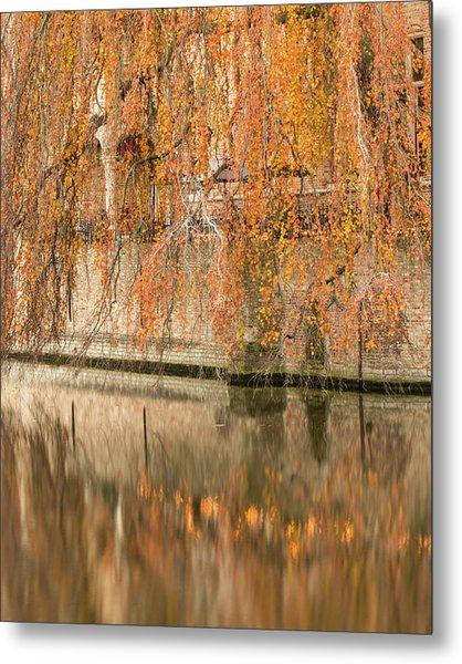 Fall In Bruges, Belgium Metal Print