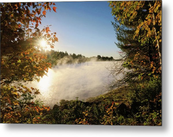 Fall In New England Metal Print
