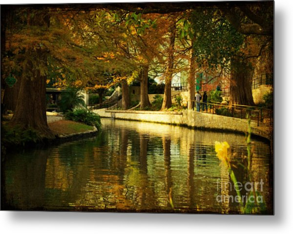 Fall In San Antonio Metal Print