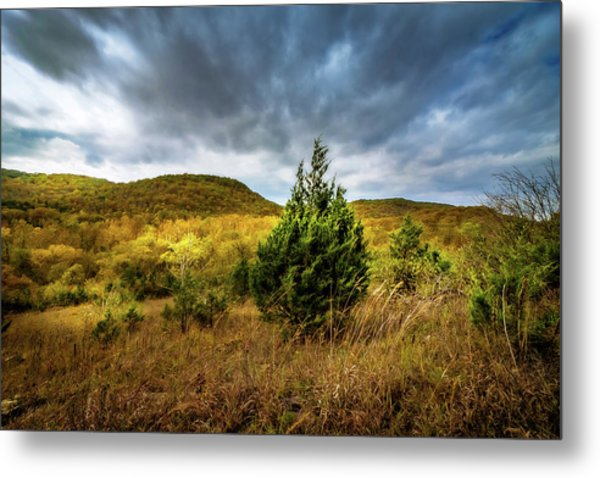 Fall In The Ozarks Metal Print
