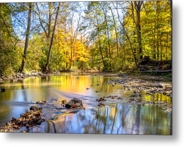 Fall In Wisconsin Metal Print