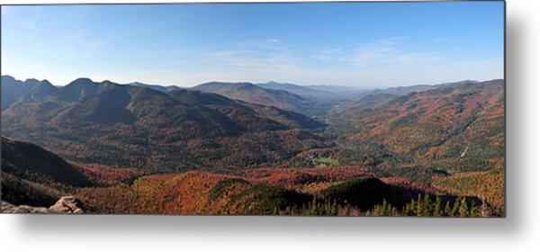 Fall Keene Valley Panorama Metal Print