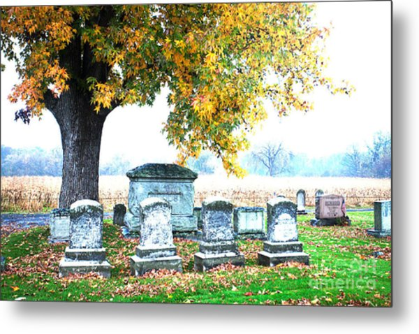 Fall Memories Metal Print