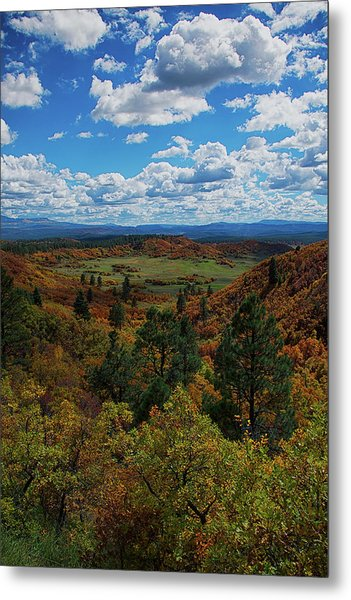 Fall On Four Mile Road Metal Print