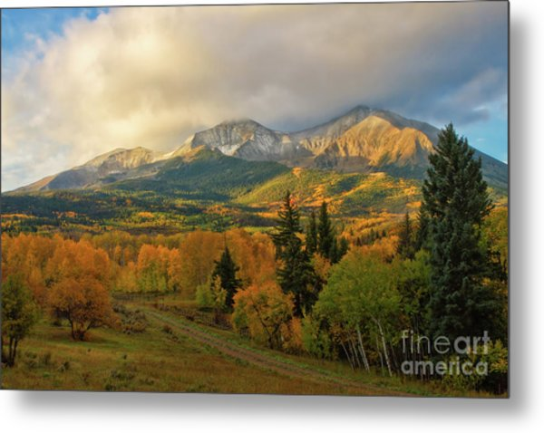 Fall On Mt Sopris  Metal Print