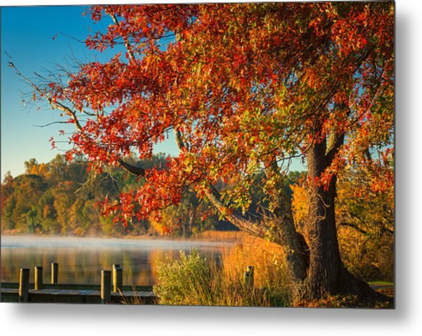 Fall On The Patuxent Metal Print