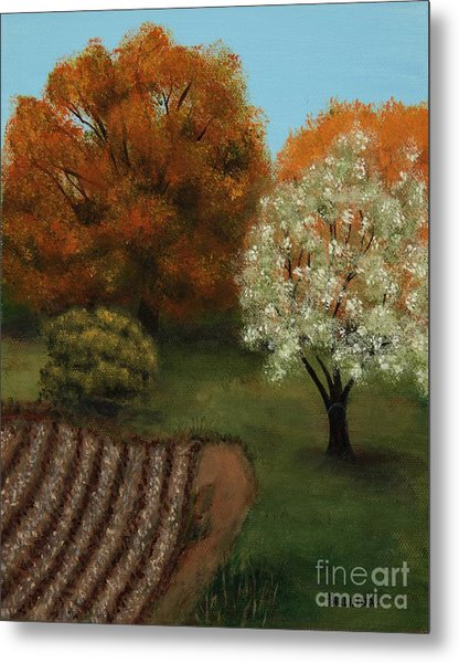 Fall Rendezvous Metal Print