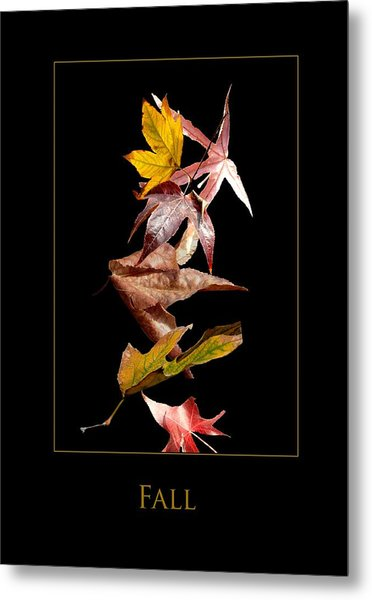 Fall Metal Print by Richard Gordon