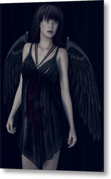 Fallen Angel - Dark And Gothic Metal Print
