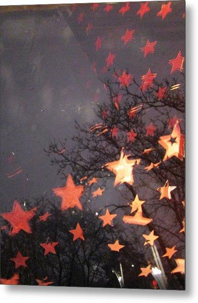Falling Stars And I Wish.... Metal Print