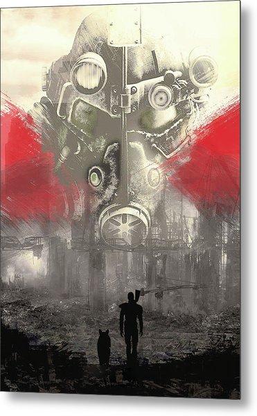 Fallout 4  Metal Print