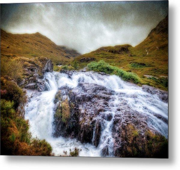 Falls Of Glencoe Metal Print