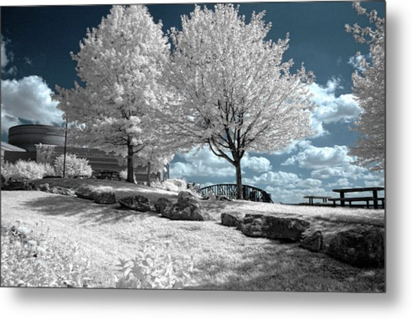 Falls Of The Ohio State Park Metal Print