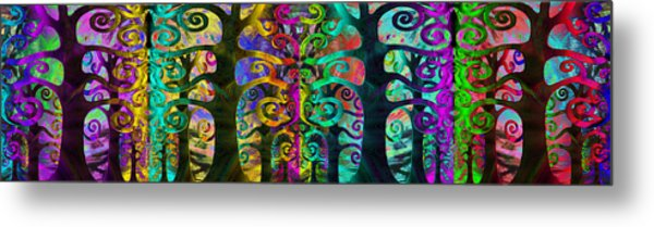 Family United Metal Print