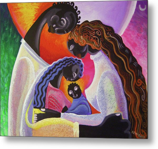 Family Unity Metal Print by Kevin McDowell
