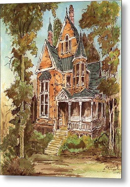 Fancy Old House 32 Metal Print by Aurelio Menna