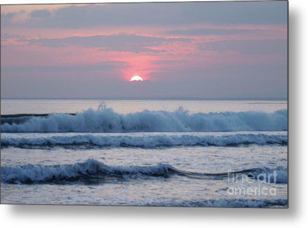 Fanore Sunset 1 Metal Print