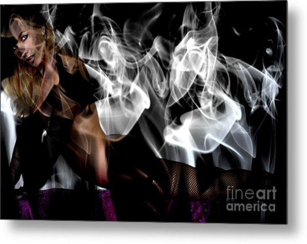 Fantasies In Smoke I Metal Print