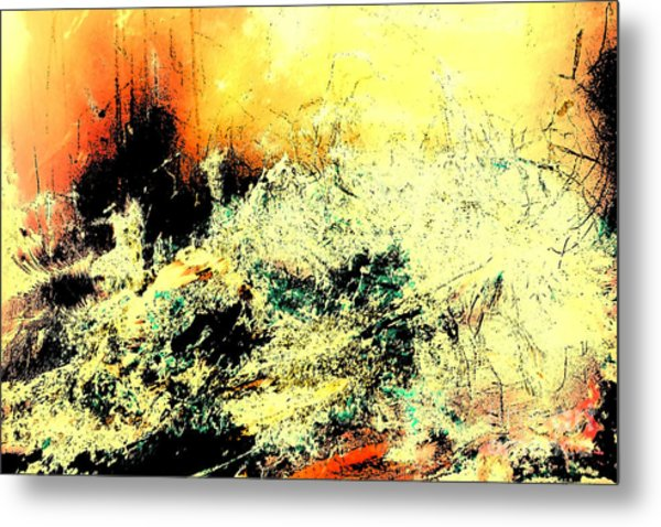 Fantasy Abstract Created Artwork    Metal Print