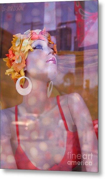 fantasy figures fine art - Bathing Beauty Metal Print