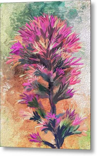 Fantasy Paintbrush Metal Print