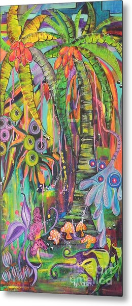 Fantasy Rainforest Metal Print