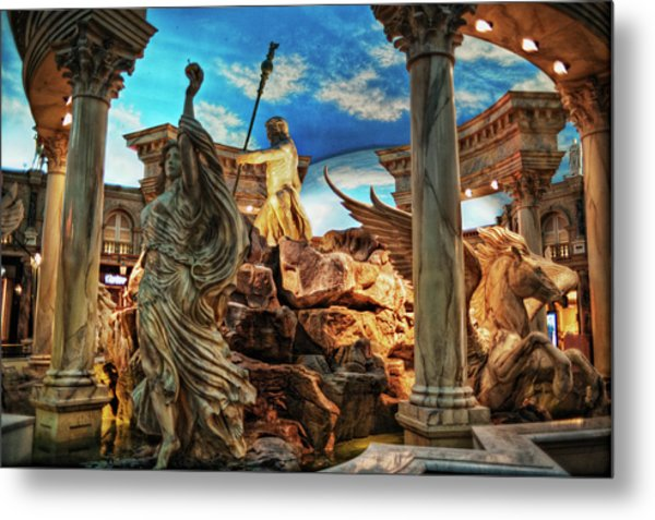 Fantasy Metal Print by Stephen Campbell