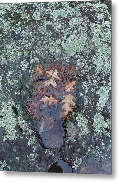 Fantom In The Weathered Bluestone Metal Print