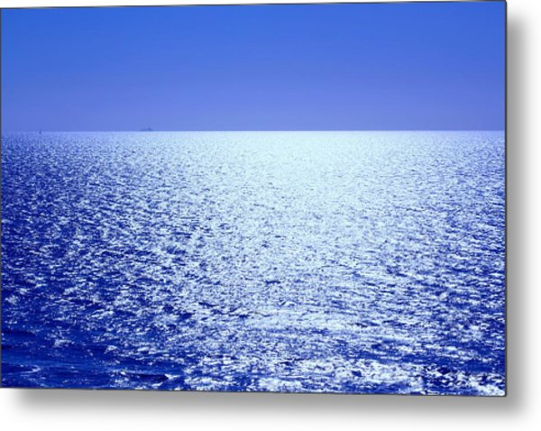 Metal Print featuring the photograph Far And Away by Alison Frank