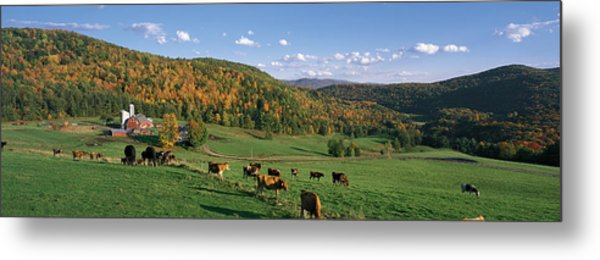 Farm Vt Usa Metal Print