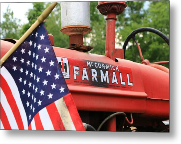Metal Print featuring the photograph Farmall 2 by Rick Morgan