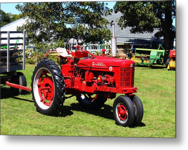Farmall At The Country Fair Metal Print