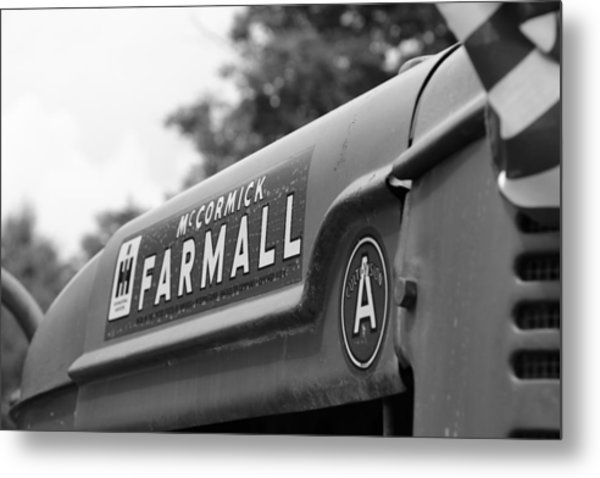 Metal Print featuring the photograph Farmall by Rick Morgan