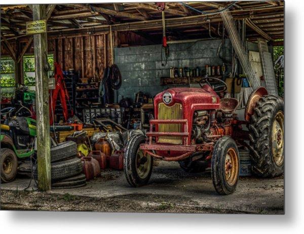 Farmall Tractor - Forever Florida Metal Print