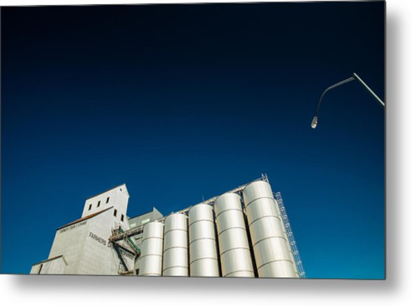 Farmers Grain Exchange Metal Print