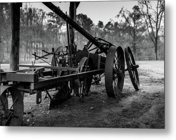 Farming Equipment Metal Print
