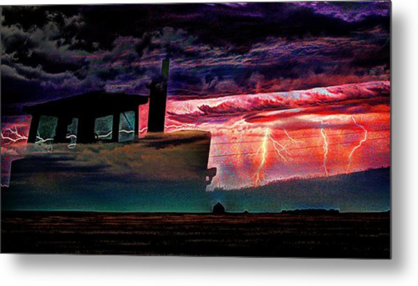 Farming Forcast  Metal Print