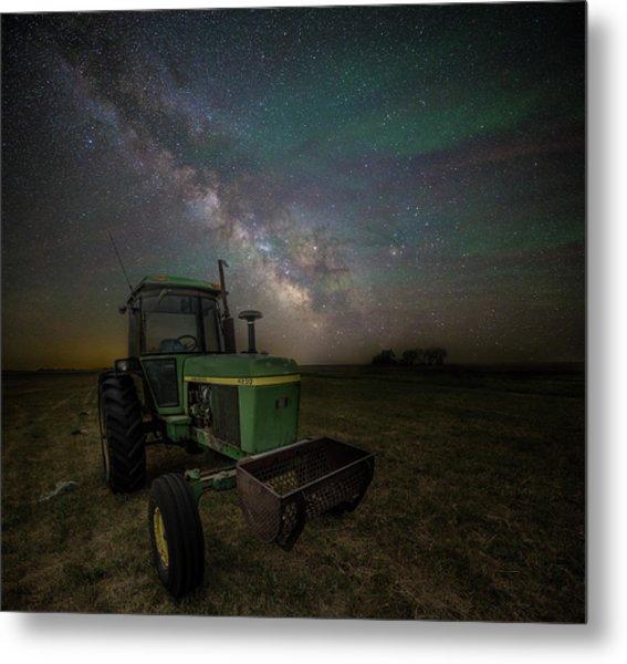 Farming The Rift 7 Metal Print