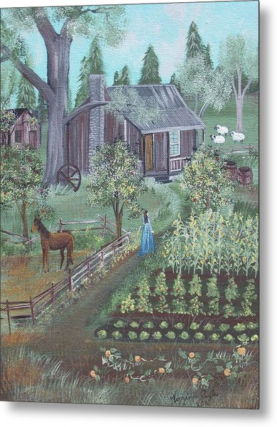 Farmstead Metal Print