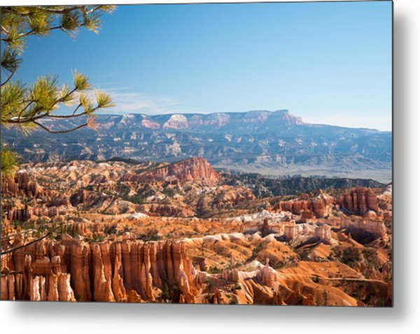 Farview Point, Bryce Canyon N.p. Metal Print