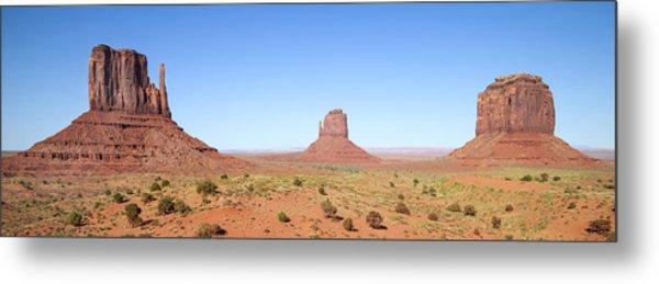 Fascinating Monument Valley Panoramic View Metal Print