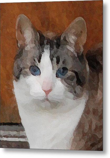 Fat Cats Of Ballard 3 Metal Print