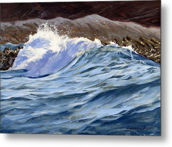 Fat Wave Metal Print