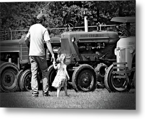 Father/daughter Day Metal Print