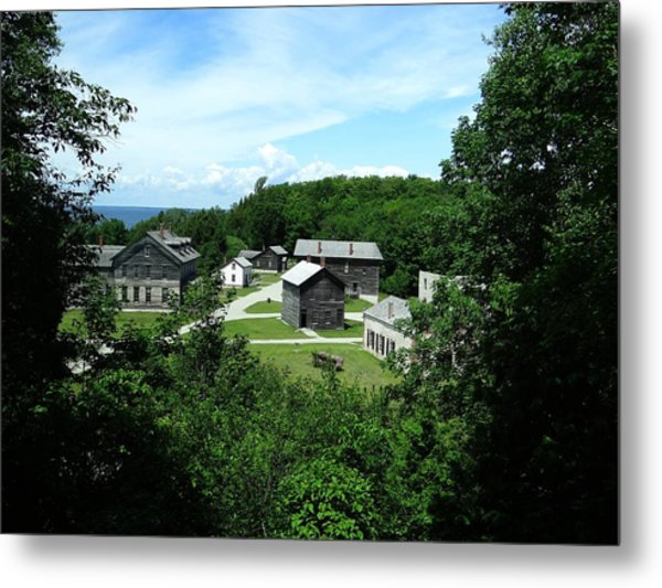 Fayette Historic State Park Metal Print