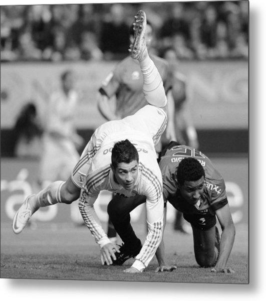 Cristiano Ronaldo 18 Metal Print