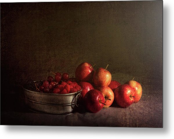 Feast Of Fruits Metal Print