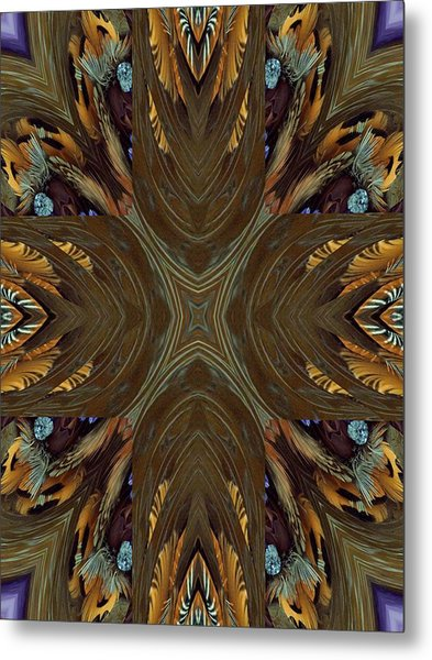 Feather Grace Metal Print by Ricky Kendall
