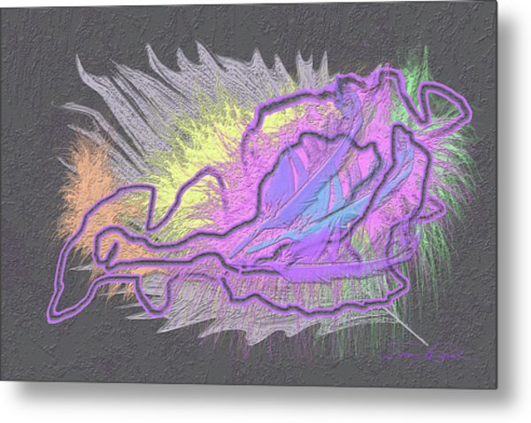 Feathered Daydreams Metal Print