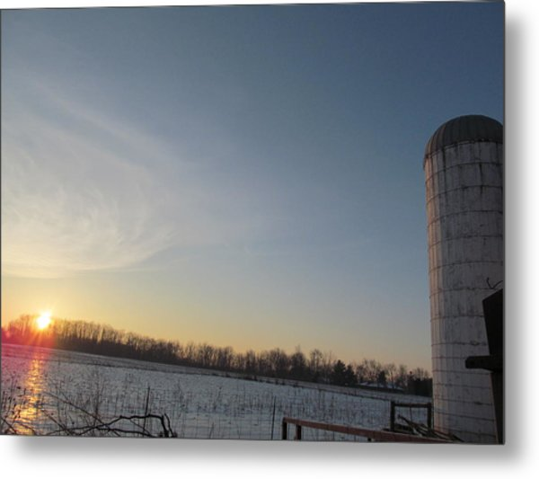 February 28 2013 Sunrise Metal Print